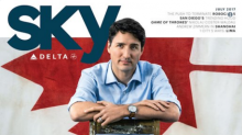 Justin Trudeau's latest magazine cover sparks reaction online