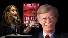 Bolton is a fan of Islamophobe activist Pamela Geller