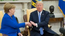 How Angela Merkel dominated Donald Trump with a mere hand gesture