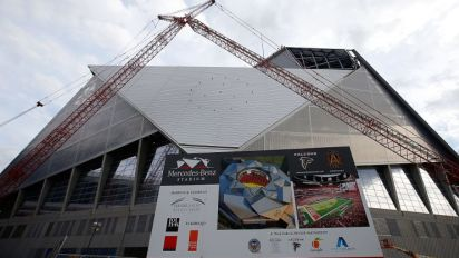 Falcons say Mercedes-Benz stadium will be open by Aug. 26 game