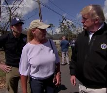 President Trump Marvels at Hurricane Michael Damage in Florida