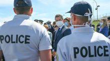 """Les syndicats policiers exposent leurs doléances à Darmanin et attendent des """"actes"""""""