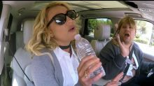 WATCH: Is Britney Spears The Only Celeb EVER To Mime In Carpool Karaoke?