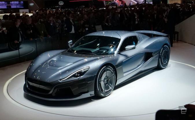 Porsche now owns almost a quarter of EV car maker Rimac