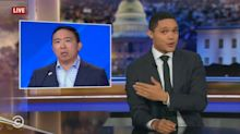 Late night hosts joke about Andrew Yang's freedom dividend contest: 'Asian Oprah'