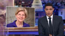Trevor Noah Reveals Genius Idea For Elizabeth Warren's 'Medicare-For-All'