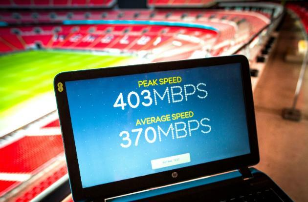 EE kicks off 400 Mbps 4G trials at Wembley Stadium