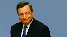 Draghi strikes dovish tone on inflation after ECB leaves policy on hold