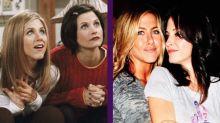 Entre amigas: lo que Courteney Cox opina sobre el reencuentro de Jennifer Aniston y Brad Pitt