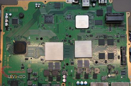 Europe's PlayStation 3 motherboard on display