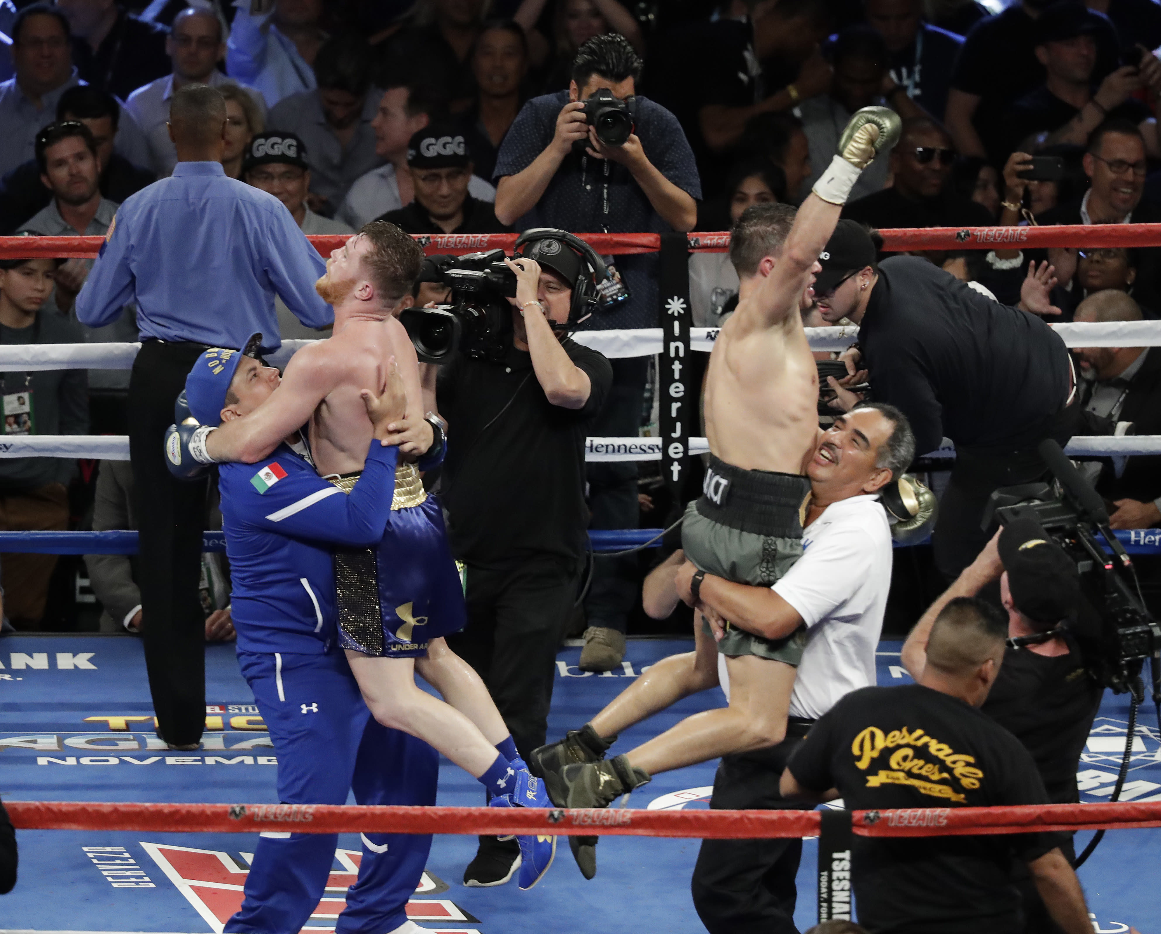 Canelo Alvarez doesn't seem too interested in a Gennady Golovkin rematch