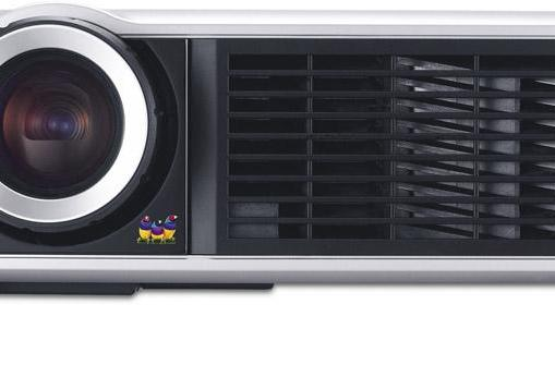 ViewSonic Cine5000 projects at a 255-inch diagonal