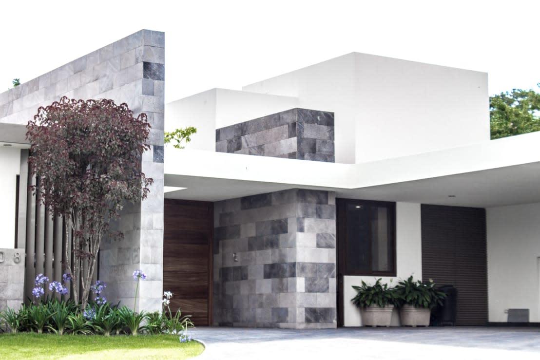 U003cpu003eWir Wollen Unseren Eingang Bewusst In Den Mittelpunkt Der  Fassadengestaltung Stellen? Steinwände