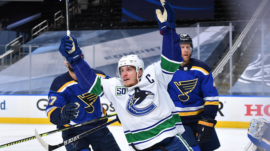 NHL Roundup: Beast-mode Bo Horvat buries the Blues