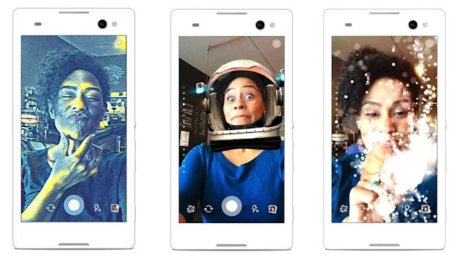 Facebook goes full Snapchat with filters and vanishing messages
