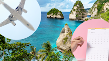 Revealed: Cheapest day to fly to Bali, Tokyo, Auckland