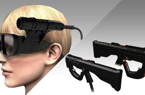 Metal Gear Arcade's head-tracking 3D glasses exposed!