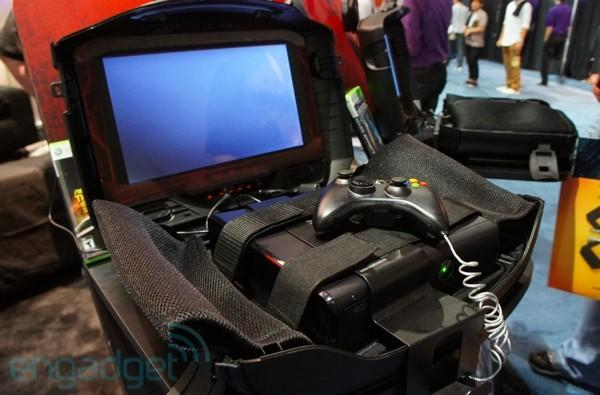 GAEMS G155 Sentry suitcase for Xbox 360 hands-on