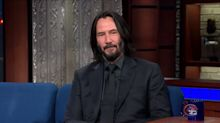 Keanu Reeves Leaves Colbert Speechless With An Incredible Reflection On Death