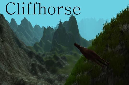 Minecraft maker's newest game blends cliffs, horses and Dogecoin