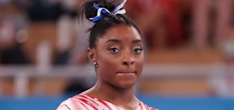 Biles says her aunt died unexpectedly during Games