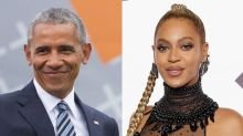 Oops. Barack Obama accidently reveals sex of Beyoncé and Jay Z's twins...