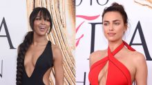 Naomi Campbell vs. Irina Shayk: duelo de escotes en los CFDA Fashion Awards