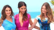 WOWtv - Victoria's Secret Models Lily Aldridge and Adriana Lima Look Sexy at Beach Shoot