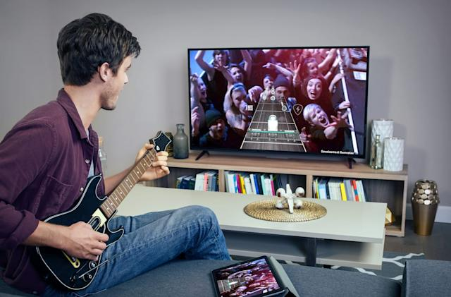 Apple TV supports 'Guitar Hero Live,' 'Disney Infinity' via Bluetooth