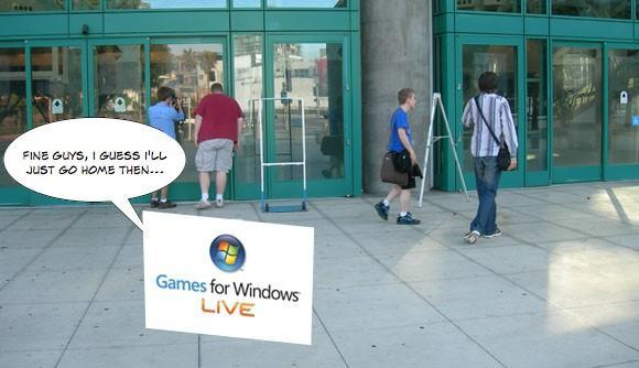 E3 Games for Windows Live announcements? Not so much!