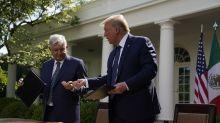 """López Obrador le agradece a Trump: """"usted no nos ha tratado como colonia"""""""