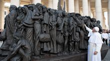 New Vatican Statue Proclaims Pope Francis' Concern For Refugees