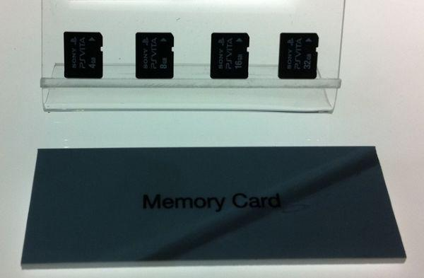 Sony PlayStation Vita's removable memory looks like it's an SD card, but it isn't