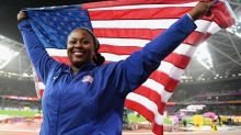 Michelle Carter has benign tumor removed, won't defend Olympic shot put title