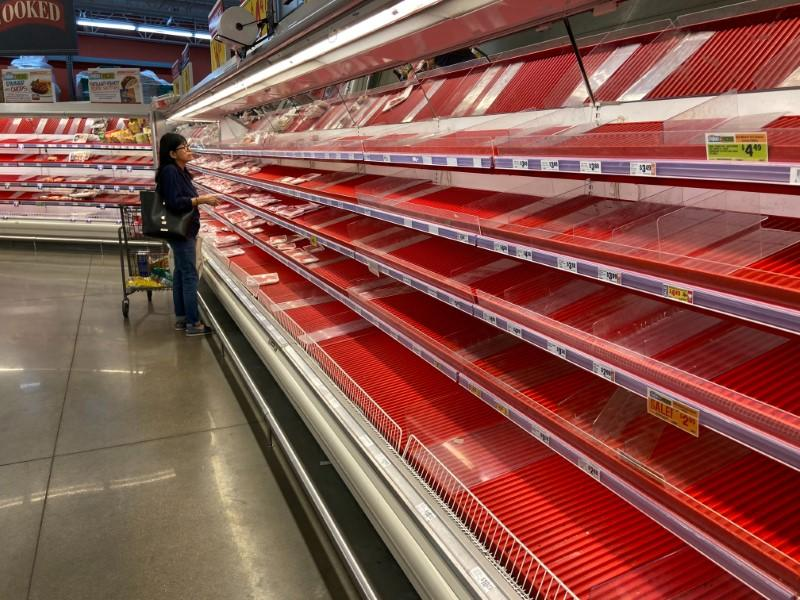 U.S. grocery meat supply to improve soon, after virus-fueled demand surge: Tyson Foods