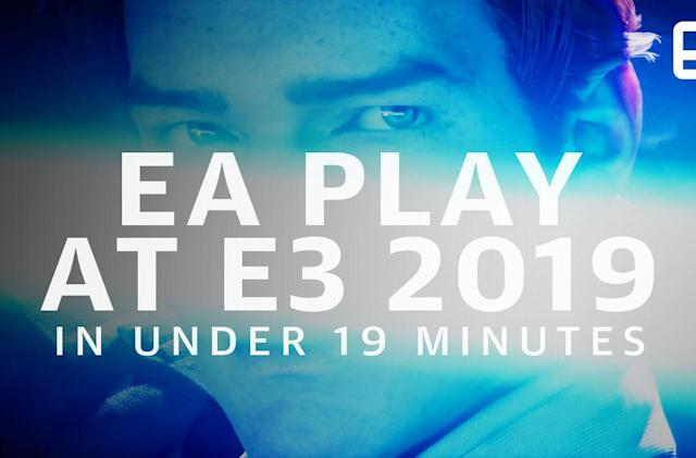 Watch EA's Play 2019 event in 19 minutes