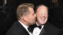 James Corden seriously regrets Sean Spicer kiss and berates himself on The Late Late Show