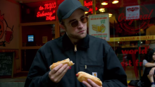 Robert Pattinson frantically searches for a hot dog in hilarious short — watch