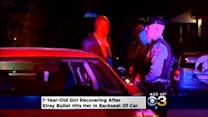 7 Year Old Shot Sitting In Car, Police Search For Shooter