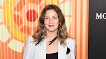 Drew Barrymore reveals she's letting her natural grey hairs grow through now she's 45