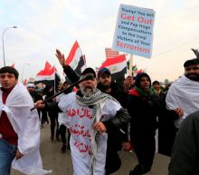 'No, No America': Iraq protesters demand expulsion of U.S. troops