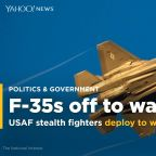 U.S. Air Force F-35 stealth fighters deploy to war zone for first time