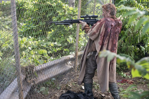 Melissa McBride as Carol in AMC's The Walking Dead . (Photo Credit: Gene Page/AMC)