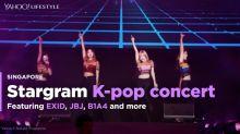 EXID, JBJ and B1A4 for Stargram K-pop concert in Singapore