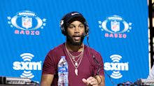 Giants' Golden Tate honors Kobe Bryant and Chadwick Boseman on his cleats