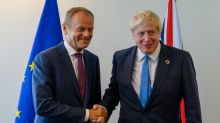 I was disappointed when Boris Johnson won the election, says Donald Tusk