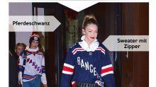 Look des Tages: Gigi Hadid im Eishockey-Sweater