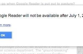 Google to shut down Google Reader, Snapseed for Mac among others