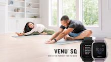 Now Is the Perfect Time to Move With the New Venu Sq GPS Smartwatch From Garmin