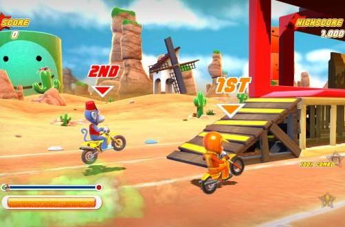 Joe Danger joined by new downloadable characters